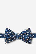 What The Shell Butterfly Self Tie Bow Tie by Alynn Bow Ties