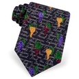 Wine Grapes Tie by Alynn Novelty