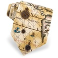 Ancient Art Of Portugal Map Tie by Alynn