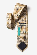 Ancient Art Of Portugal Map Tie by Alynn Novelty