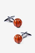 Basketballs Cufflink by Alynn
