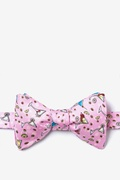 Martini Party Butterfly Self Tie Bow Tie by Alynn Bow Ties