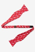 Choose Your Weapon Butterfly Self Tie Bow Tie by Alynn Bow Ties