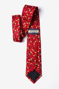 Christmas Horns Tie For Boys by Alynn