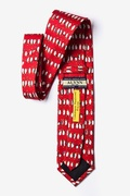 Christmas Penguins Tie by Alynn Novelty