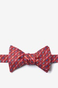 Cold-blooded Self Tie Bow Tie by Alynn Bow Ties