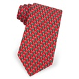 Micro Candy Canes Boys Tie by Alynn Novelty