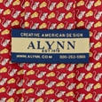 Mouse & Cheese Tie by Alynn