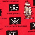 Pirate Flags Boys Tie by Eric Holch for Alynn Neckwear