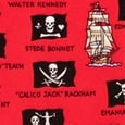 Pirate Flags Tie For Boys by Eric Holch for Alynn Neckwear