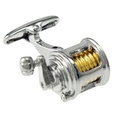 Fishing Reel Cufflink by Alynn