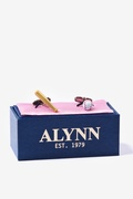 Baseball & Bat Cufflink by Alynn Novelty