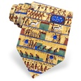 Ancient Egyptian 7 Day Week Tie by Alynn Novelty