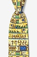 Ancient Egyptian 7 Day Week Tie by Alynn