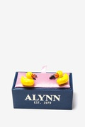 Bath Companion Cufflink by Alynn Novelty