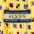 A-Z International Flags Tie by Alynn Novelty