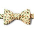 Golf Balls & Tees Butterfly Bow Tie by Alynn Bow Ties