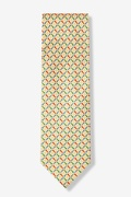 Golf Balls & Tees Tie by Alynn Novelty