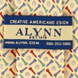Golf Balls & Tees Tie For Boys by Alynn Novelty
