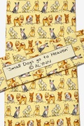 Small Dogs Go To Heaven Tie by Alynn Novelty