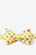 Wake Up Call Butterfly Bow Tie by Alynn Novelty