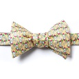 Would Ya Hit A Guy With Glasses!? Butterfly Self Tie Bow Tie by Alynn Bow Ties